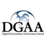 Digital Government Achievement Award (DGAA) – Honorable Mention logo