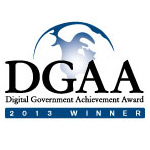 Digital Government Achievement Award (DGAA) – Government-to-Citizen State Government Category logo